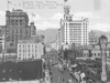 Postcard depicting Granville Street, c. 1930