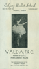 Olga Valda, Canadian Dance Teachers' Association program, 1952