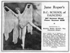 Display ad for June Roper's B.C. School of Dancing, c. 1936