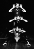 "University of Calgary dancers in Yoné Kvietys Young's ""It is What it is. The Totem Dance"", c. 1968"