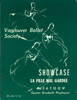Vancouver Ballet Society Showcase souvenir program, Queen Elizabeth Playhouse, 1966
