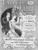 An Empress Theatre house program cover, c. 1910