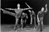 "Leslie Manning, Josef Stanishevskyj, Anne Harvie and Donald McLeod in Paula Ross's ""Coming Together"" / Photo: Victor Dezso"