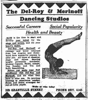 Display ad for the Del-Roy & Merinoff Dancing Studio, 1929