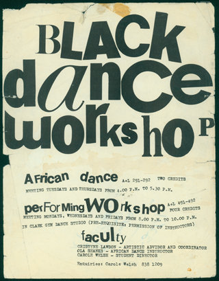Black Dance Workshop